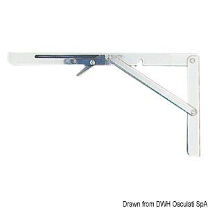 Foldable arm pair