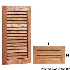 ARC shutter ventilation grids - 18-mm thickness title=