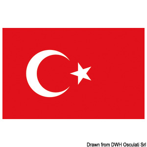 Bandiera - Turchia title=