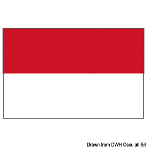 Flag - Principality of Monaco title=