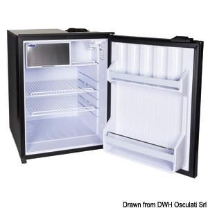 ISOTHERM refrigerator with maintenance-free 85-l Secop hermetic compressor title=