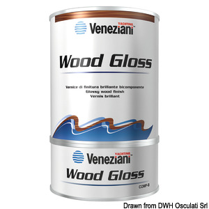Varnish VENEZIANI Wood-Gloss