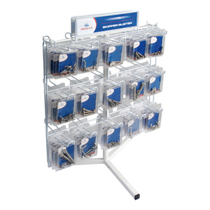 Bolts and screws in packs - Counter stand, only / Set including 291 assorted packs + counter stand title=