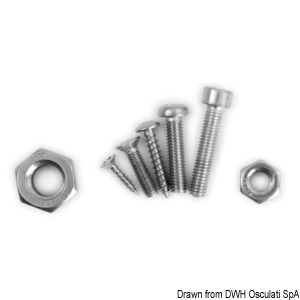 Stainless steel nuts, bolts and screws: A4 - AISI 316