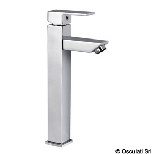 Square tall mixer for toilet sink (for projecting sinks)