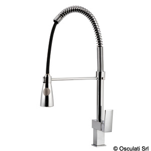Rubinetto cucina con spray Square title=