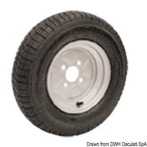 Надувные колеса для высокоскоростных трейлеров