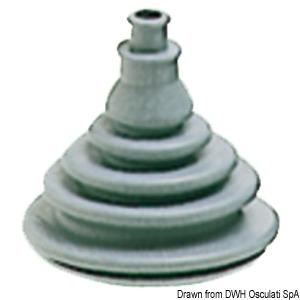 Fairlead bellows made of Dutral anti-saline rubber