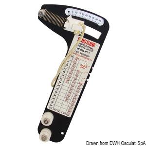 Tensiometro professionale Loos per tondino 10 mm