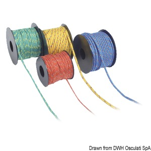 Very high-strength low-elongation Dyneema reel title=