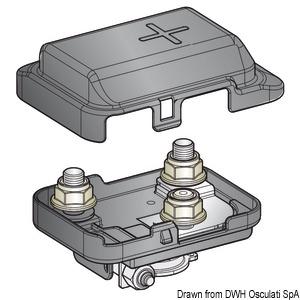 Power distribution fuse box for MEGA fuse title=