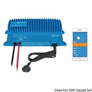 Punjač akumulatora VICTRON Bluesmart vodonepropusni s povezivanjem Bluetooth title=