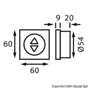BATSYSTEM Rheostat 12//24 V for LED 24 W white
