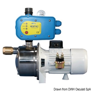 CEM electronically-operated fresh water pump title=