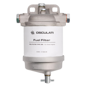 Diesel filter type CAV with water drain title=