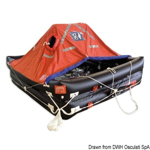 Deep-Sea Compact professional self-inflatable liferaft - Solas MED title=