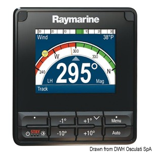 RAYMARINE P70s/P70Rs instruments and autopilot control units title=