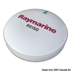 RAYMARINE RS150 10Hz GPS antenna with STNG connection title=
