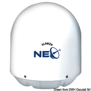 GLOMEX Rhea NEO satellite TV antenna title=