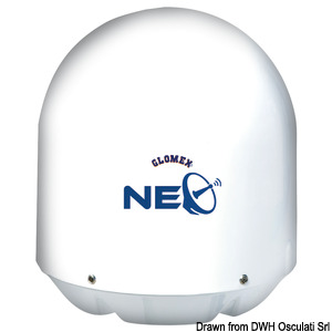 GLOMEX Saturn 4 NEO satellite TV antenna title=