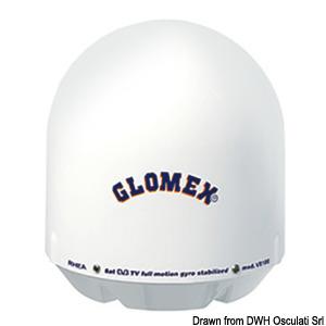 GLOMEX spare radome title=