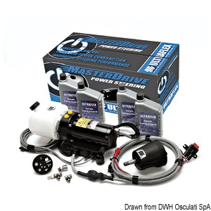 MasterdriveR - Powered-assisted steering system for outboard engines title=