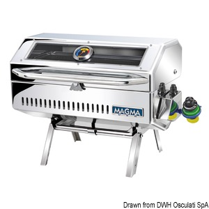 MAGMA Catalina Infrared barbecue with infrared grilling technology title=