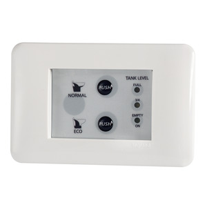 Toilet unit control panel title=