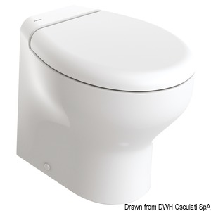 TECMA Silence Plus 2G electric toilet bowl title=