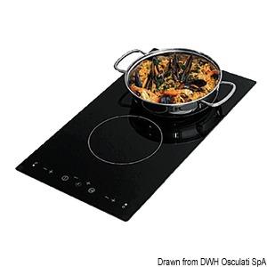 Plan de cuisson en vitrocéramique à induction title=