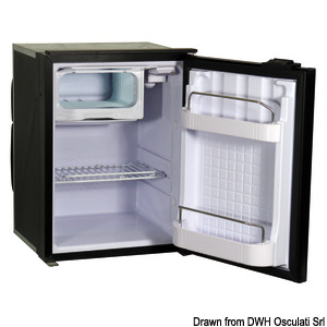 ISOTHERM refrigerator with maintenance-free 42-l Secop hermetic compressor title=