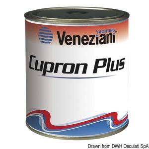 Необрастающая краска VENEZIANI Cupron Plus title=