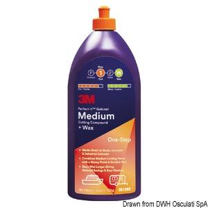 Medium Cutting Compound + Wax - Polish for medium oxidation title=