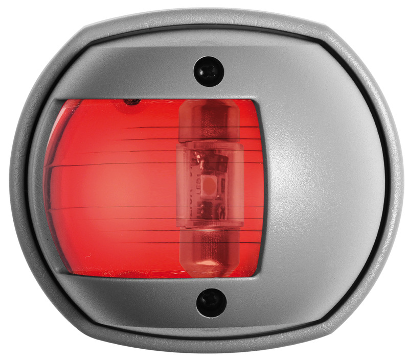 Osculati Sphera Navigationslicht Compact rot RAL 7042