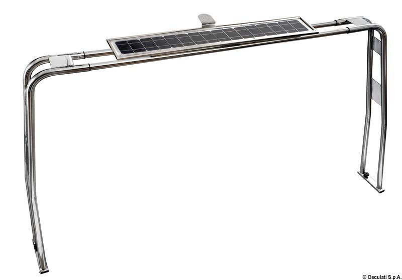 Solar panel for A-frame
