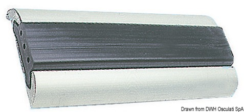 Beliebt Profilleiste aus eloxiertem Aluminium 75x15+5 mm Stangen zu 3/6 m UT32