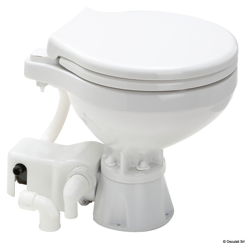 Fabulous Evolution Compact Electric Toilet Unit 12 V Bralicious Painted Fabric Chair Ideas Braliciousco
