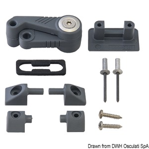 LEWMAR Ocean hatch spare parts title=