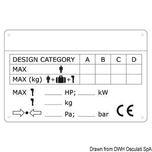 Placchetta per identificazione scafi title=
