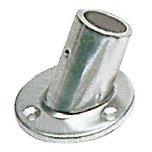 Aluminium pulpit joints and bases