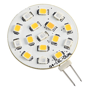 Bicolour SMD LED bulb, G4 screw title=