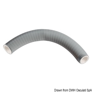 SUPERFLEX spiral hose grey PVC Ø 38 mm