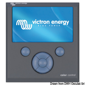 VICTRON GX series control panel title=