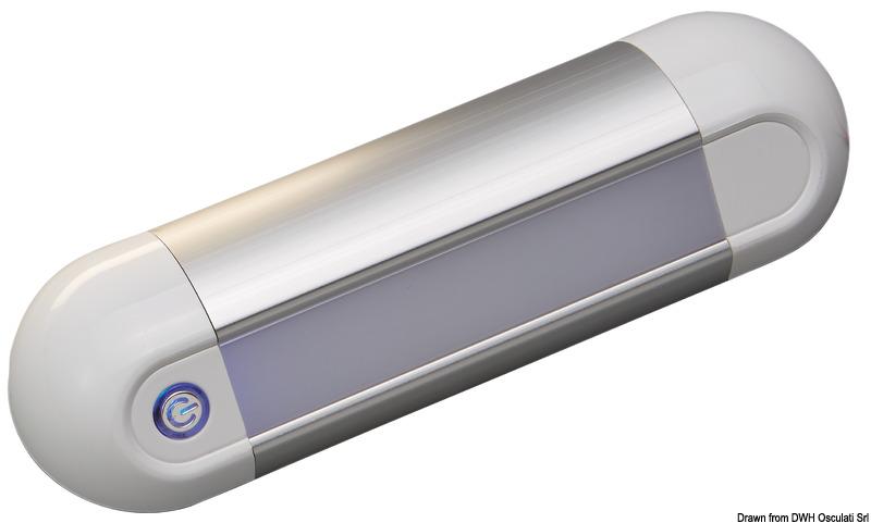 Plafoniera Con Sensore Di Movimento : Plafoniera di servizio a led con touch switch