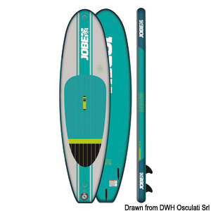 Stand Up Paddle JOBE Desna 10.0 Package title=