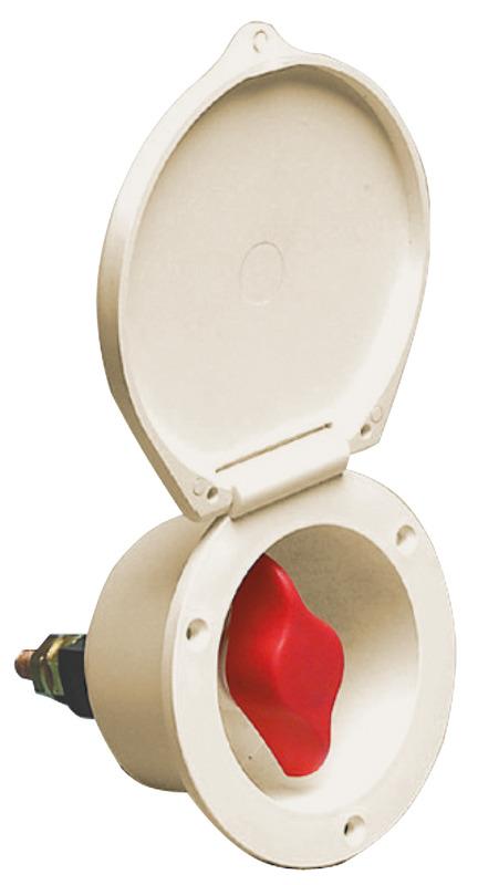 Osculati Staccabatteria Heavy Duty Bianco Heavy Duty Marine Battery Switch White