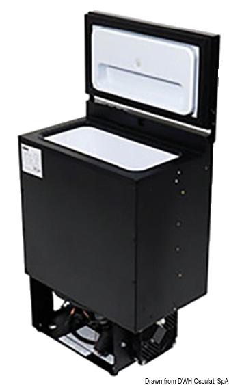 ISOTHERM Mini-Einbaukühlschrank BI16