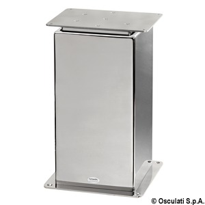 SQUARE 2- or 3-stage electrical table pedestal title=