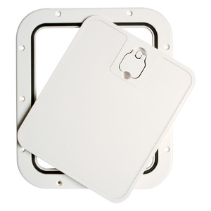 Inspection hatch with removable front lid title=