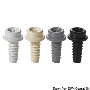CAF-COMPO universal composite screw studs title=